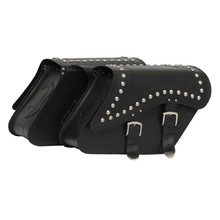 Leather Motorcycle Bags TechStar Kosso Undecorated - Decorative Features