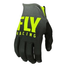 Motorcycle Gloves Fly Racing Lite 2019 - Black/hi-viz