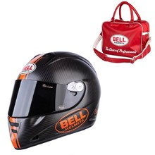 Motorcycle Helmet BELL M5X Daytona Carbon Matte Orange