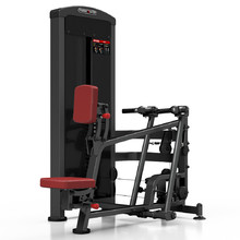 Seated Lat Pulldown Machine Marbo Sport MP-U229 - Red
