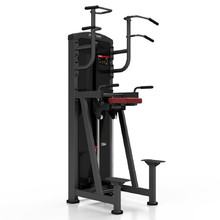 Assisted Dip/Chin Up Machine Marbo Sport MP-U231 - Red