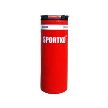 Children's Punching Bag SportKO MP5 29x75cm - Red