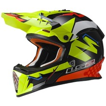 Dirt Bike Helmet LS2 MX437 Fast Isaac Viñales Replika