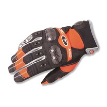 Motocross Gloves AXO VR-X - Orange