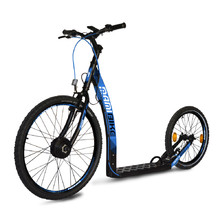 E-Scooter Mamibike EASY w/ Quick Charger 2020 - Black-Blue