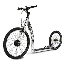 E-Scooter Mamibike EASY w/ Quick Charger 2020 - White-Black