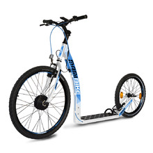 E-Scooter Mamibike EASY w/ Quick Charger 2020 - White-Blue