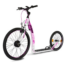 E-Scooter Mamibike EASY w/ Quick Charger 2020 - White-Pink