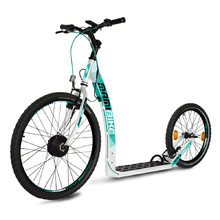 E-Scooter Mamibike EASY w/ Quick Charger 2020 - White-Turquoise