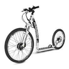 E-Scooter Mamibike MOUNTAIN w/ Quick Charger 2020 - White-Black