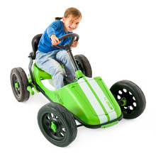 Children's Pedal Car Chillafish Monzi-RS - Lime