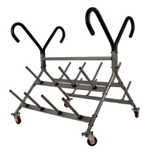 Storage Rack for 30-mm Weight Plates and Bars inSPORTline Pump