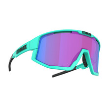 Sports Sunglasses Bliz Fusion Nordic Light 2021 - Matt Turquoise