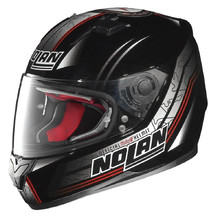 Motorcycle Helmet Nolan N64 Moto GP Metal Black