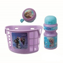 Bicycle Set Frozen (basket, bell, bottle)
