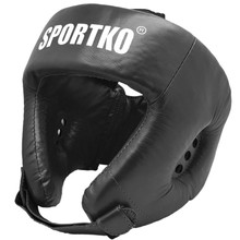 Boxing Head Guard SportKO OK2 - Black