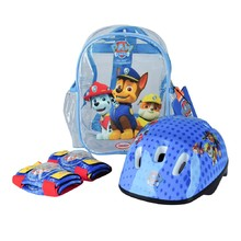 "Helmet and Protector Set ""Paw Patrol"" with Pack"