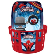 Cycling Set Spiderman (basket, bell, bottle)