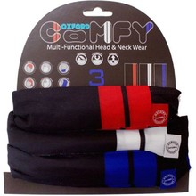 Universal Multi-Functional Neck Warmer Oxford Comfy 3-Pack - Double Stripe