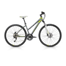 "Women's Cross Bike KELLYS PHUTURA 30 28"" – 2017 - Grey"