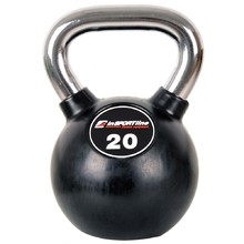 Rubber-Coated Dumbbell inSPORTline Ketlebel Profi 20 kg