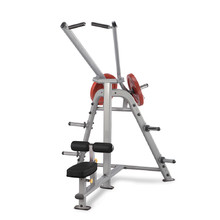 Lat Pulldown Machine - Steelflex PlateLoad Line PLLA