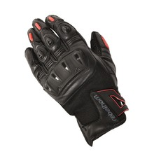 Men moto gloves Rebelhorn Flux - Black