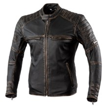 Leather Motorcycle Jacket Rebelhorn Hunter Pro CE