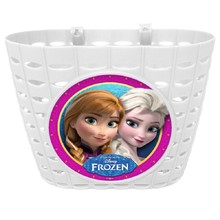 Bicycle Basket Frozen – White