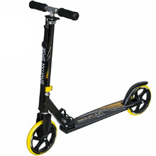 Spartan Jumbo scooter - Black-Yellow