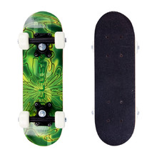 Skateboard Mini Board - Psychadelic Green