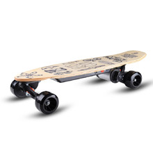 Electric Skateboard Skatey 150L Wood Art