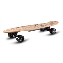 Electric Longboard Skatey 350L Wood Art