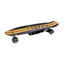 Electric Longboard Skatey 400 Black-Orange