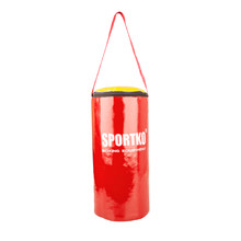 Children's Punching Bag SportKO MP10 19x40cm - Red-Yellow