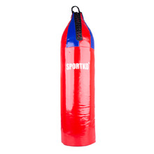 Children's Punching Bag SportKO MP7 24x80cm - Red-Blue