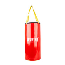 Children's Punching Bag SportKO MP9 24x50cm - Red