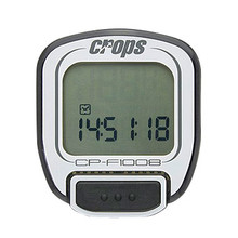 Cycling Computer Crops F1008 - White