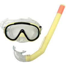 Snorkelling Set Francis Cristal Junior - Yellow