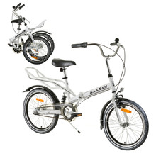 "Folding bike Reactor Comfort 20"" - White"