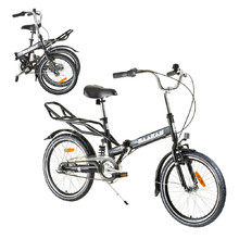 "Folding bike Reactor Comfort 20"" - Black"