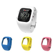 Sports Watch POLAR A300 HR White + 3 Replacement Straps