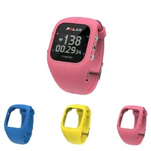 Sports Watch POLAR A300 HR Pink + 3 Replacement Straps