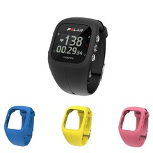 Sports Watch POLAR A300 HR Black + 3 Replacement Straps