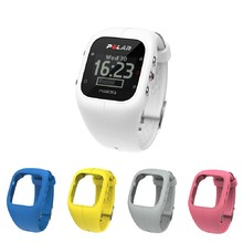 Sports Watch POLAR A300 HR + 4 Replacement Straps - White