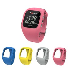 Sports Watch POLAR A300 HR + 4 Replacement Straps - Pink