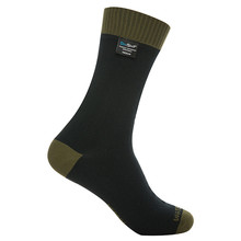 Waterproof Socks DexShell Thermlite - Olive Green