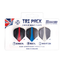 Dart Flights Harrows Retina Tri Pack