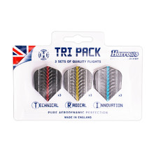 Dart Flights Harrows Supergrip Tri Pack