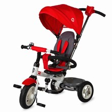 Three-Wheel Stroller/Tricycle with Tow Bar Coccolle Urbio Air - Red